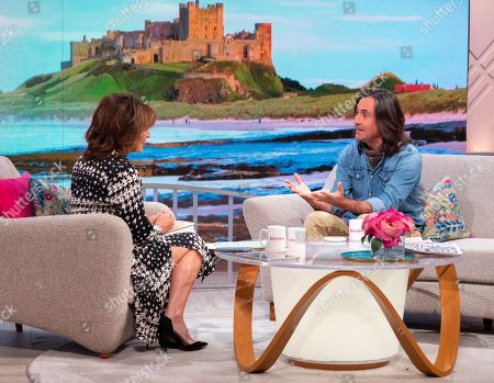 Stock Image of Lorraine Kelly and Neil Oliver