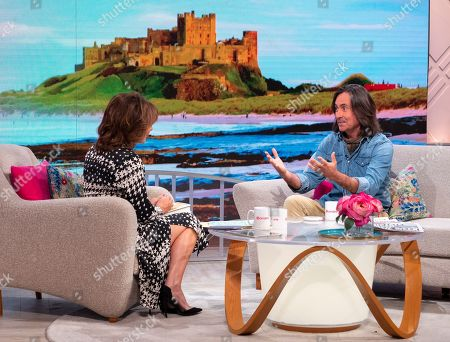 Lorraine Kelly and Neil Oliver
