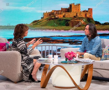 Editorial picture of 'Lorraine' TV show, London, UK - 18 Sep 2019