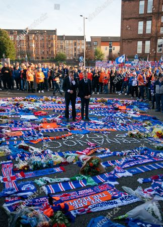 Editorial photo of Glasgow Rangers v Feyenoord, UEFA Europa League, Group G, Football, Ibrox Stadium, Scotland, UK - 19 Sep 2019
