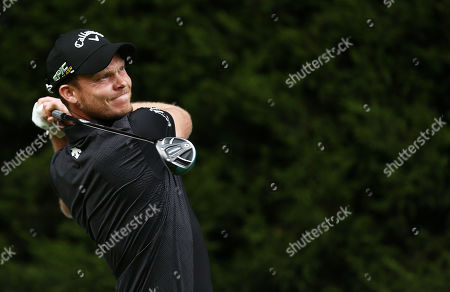 Danny Willett of England during his round.