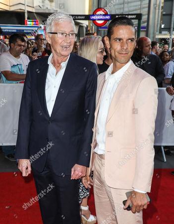 Paul O'Grady and Andre Portasio