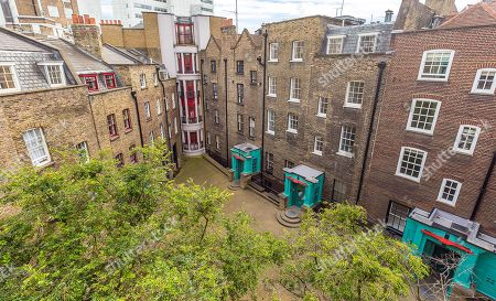 The converted warehouse flat on Mercer Street in the Seven Dials area of Covent Garden