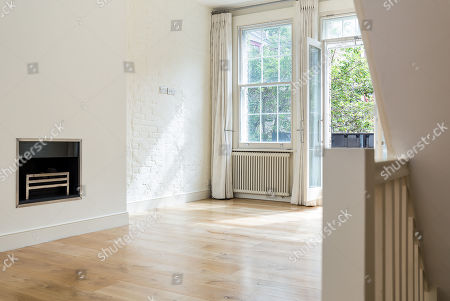 Stock Photo of The converted warehouse flat on Mercer Street in the Seven Dials area of Covent Garden