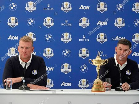 Padraig Harrington, European Ryder Cup Captain for 2020, introduces Robert Karlsson as his Vice Captain and discusses his plans for the next year's qualifying events.