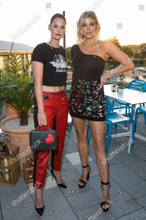 Charlotte de Carle and Ashley James