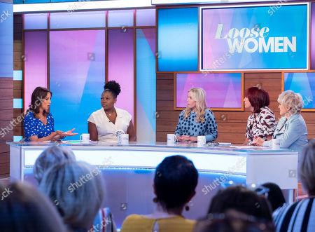 Editorial photo of 'Loose Women' TV show, London, UK - 18 Sep 2019