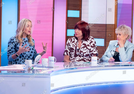Stock Picture of Kate Lawler, Janet Street-Porter and Gloria Hunniford