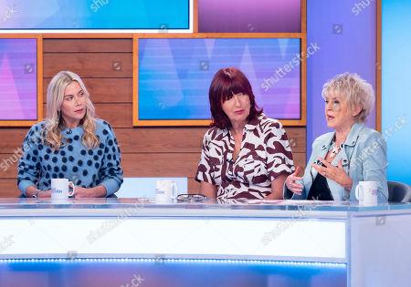 Kate Lawler, Janet Street-Porter and Gloria Hunniford