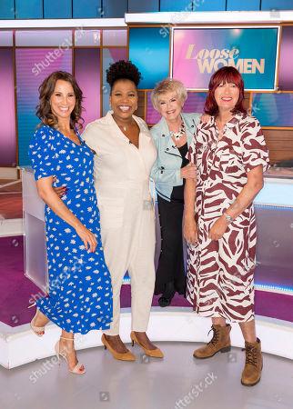 Andrea McLean, Brenda Edwards, Gloria Hunniford and Janet Street-Porter