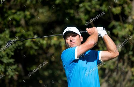 Francesco Molinari (ITA) in action on Day 2 of the BMW PGA Golf Championships at Wentworth