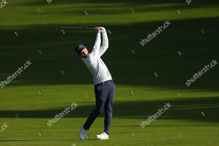 VIRGINIA WATER, ENGLAND. 19 SEPTEMBER 2019: Branden Grace competing in round one of the BMW PGA Championship, European Tour Golf Tournament at Wentworth Golf Club, Virginia Water, Surrey, England.