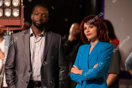 Jamie Hector as Andre and Jill Flint as Monica