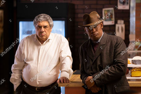 Vincent Pastore as Larry and Bokeem Woodbine as Jerome