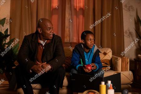 Bokeem Woodbine as Jerome and Justus Davis-Graham as Randy Diggs