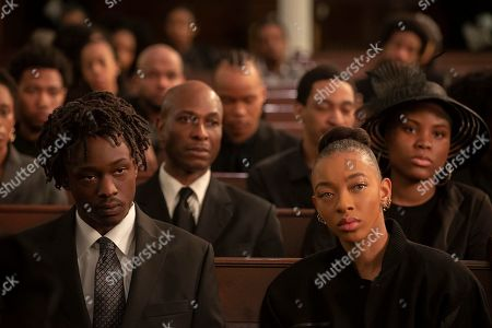 Ashton Sanders as Bobby Diggs and Zolee Griggs as Shurrie