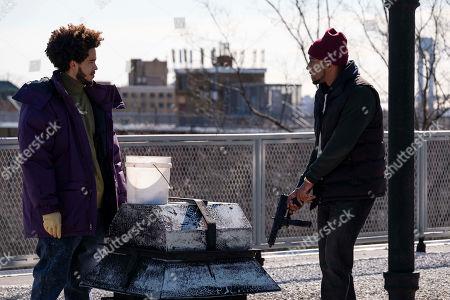 Jorge Lendeborg Jr. as Jah Son and Siddiq Saunderson as Dennis 'D-Love' Coles