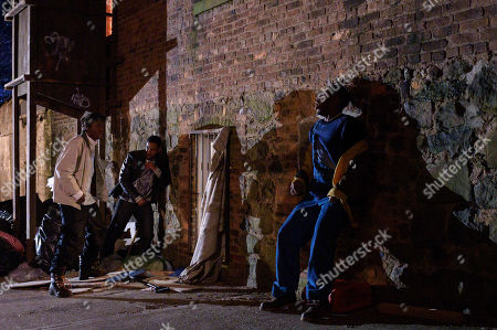 Ashton Sanders as Bobby Diggs, Siddiq Saunderson as Dennis 'D-Love' Coles, and TJ Atoms as Ason