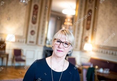 Editorial image of Foreign Minister Margot Wallstrom photoshoot, Stockholm, Sweden - 06 Sep 2019