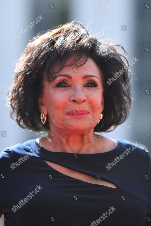 Editorial picture of Dame Shirley Bassey Handprints, SSE Arena, Wembley, London, UK - 18 Sep 2019