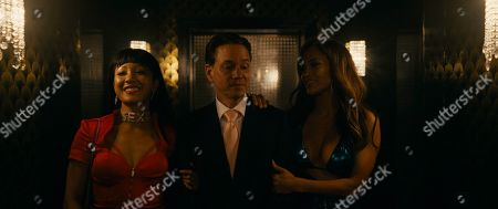 Constance Wu as Destiny, Frank Whaley as Reese and Jennifer Lopez as Ramona