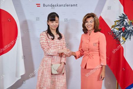 Japanese Crown Princess Kako visit to Austria