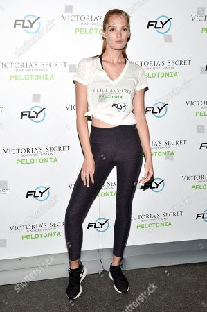 Editorial photo of Victoria's Secret Angel Cycle to End Cancer, Flywheel Sports, New York, USA - 18 Sep 2019