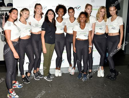 Stock Picture of Dr. Rosa Lapalombella, Sherica Holmon, Alexandra Richards, Angels Martha Hunt, Josephine Skriver, Alexina Graham, Chey Carty, Gizele Oliveira, Josie Conseco, Lorena Duran and Sofie Grace Rovenstine