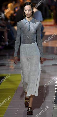 Editorial picture of Prada - Runway - Milan Fashion Week S/S 2020, Italy - 18 Sep 2019