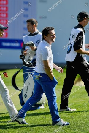 Chris Hollins during the BMW PGA Championship at Wentworth Club, Virginia Water