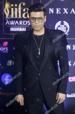 Indian filmmaker Karan Johar stands for a photograph during the 20th International Indian Film Academy (IIFA) awards ceremony in Mumbai, India