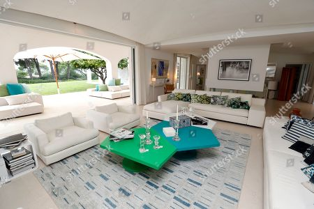 A view of belongings in the living room of Daniele Thompson, Monegasque film director and daughter of French film director Gerard Oury, in her house 'Villa Les Oliviers' in Saint-Tropez, France, 18 September 2019. Daniele Thompson sells her house 'Villa Les Oliviers' and the furniture will be sold separately at auction on 05 October 2019.
