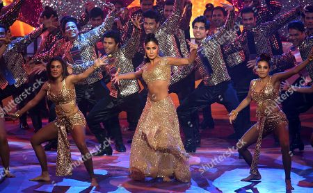 Stock Picture of Katrina Kaif performs during the 20th International Indian Film Academy (IIFA) awards ceremony in Mumbai, India, 18 September 2019. The IIFA awards are prizes presented by the International Indian Film Academy every year to honour artistic and technical excellence of professionals in Bollywood.