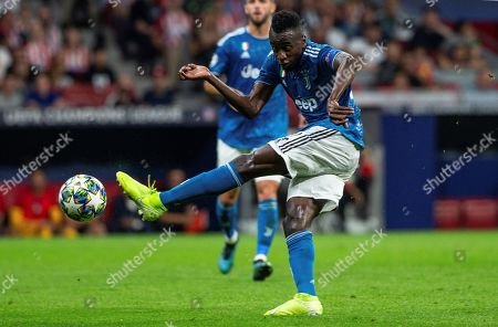 Juventus' midfielder Blaise Matuidi in action during the UEFA Champions League group D soccer match between Atletico de Madrid and Juventus at Wanda Metropolitano stadium in Madrid, Spain, 18 September 2019.
