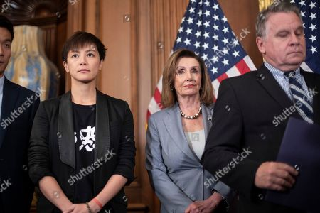 Editorial photo of Pelosi Hong Kong Human Rights, Washington, USA - 18 Sep 2019