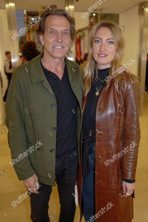 Stephen Webster and Amy Webster