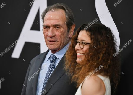 Stock Image of Tommy Lee Jones and Dawn Laurel-Jones