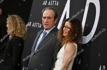 Tommy Lee Jones and Dawn Laurel-Jones