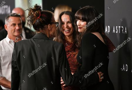 Stock Image of Steven Tyler, Chelsea Tyler and Liv Tyler