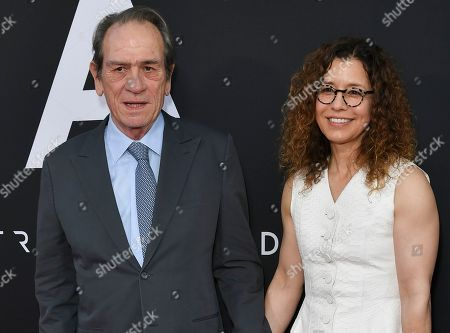 Stock Picture of Tommy Lee Jones and Dawn Laurel-Jones