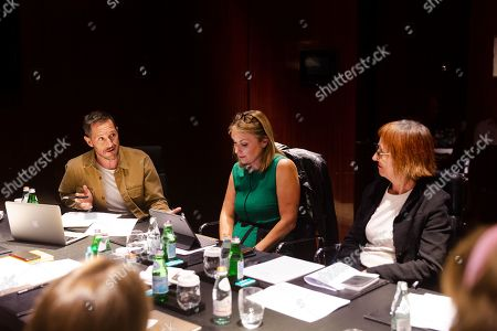 Stock Picture of Bertie Carvel, Jay Hunt, Penny Woolcock
