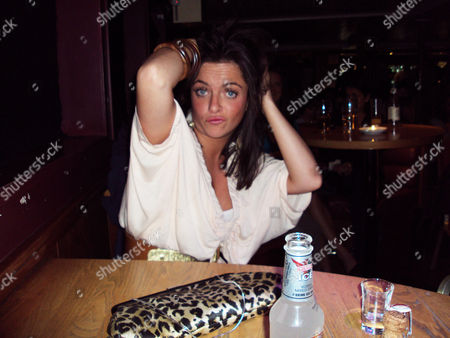 Holly Clements on a night out