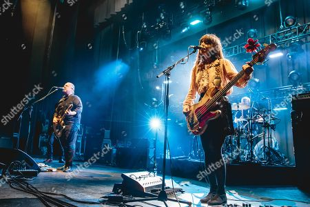Editorial image of Pixies in concert at O2 Apollo, Manchester, UK - 18 Sep 2019