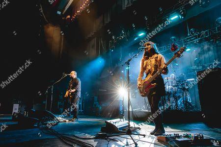 Stock Image of Pixies - Black Francis and Paz Lenchantin