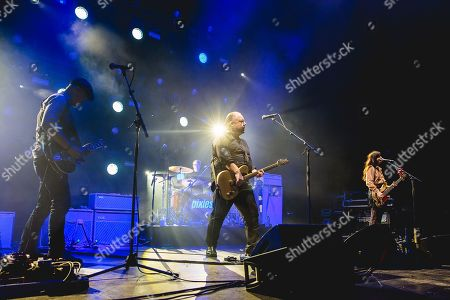 Pixies - Joey Santiago, Dave Lovering, Black Francis and Paz Lencha