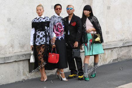 Tina Leung, Tamu McPherson, Bryanboy, Susie Bubble