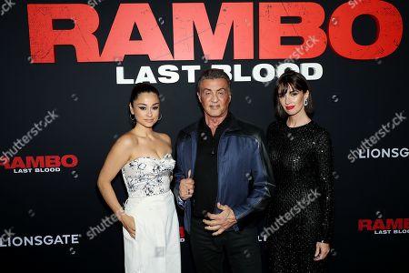 Yvette Monreal, Sylvester Stallone, Paz Vega