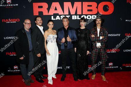 Andrian Grunberg, Sergio Peris-Mencheta, Yvette Monreal, Sylvester Stallone, Paz Vega, Oscar Jaenada