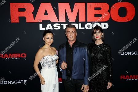 "Editorial picture of New York City Fan Screening for Lionsgate's ""RAMBO: Last Blood"", Mew York, USA - 18 Sep 2019"