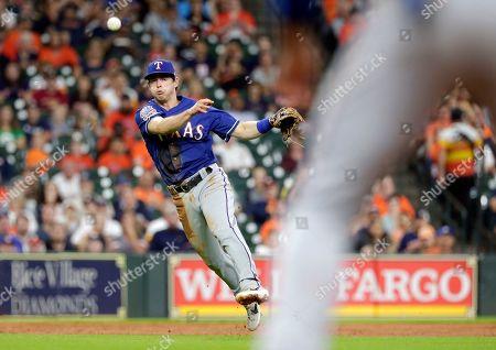 Editorial photo of Rangers Astros Baseball, Houston, USA - 18 Sep 2019